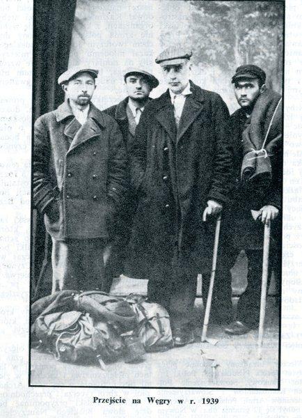 Sosnkowski w drodze do Francjii w 1939 roku