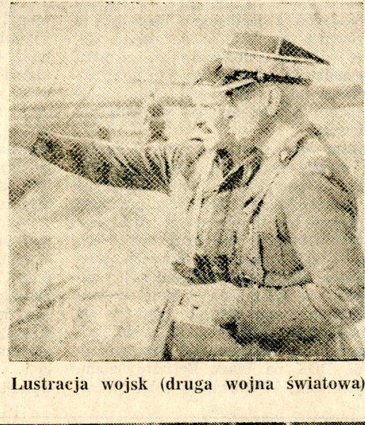 Lustracja wojsk  II W.S.