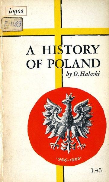 Okładka z ksiązki Oskara Haleckiego
