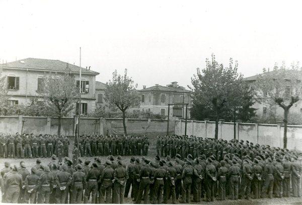 Apel wojskowy 2 Korpusu Polskiego PSZ, Włochy po 1945 r.