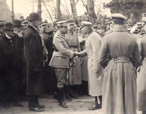 Józef Piłsudski i Józef Haller