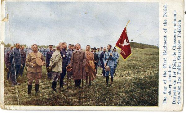 Sztandar I pułku Strzelców polskich