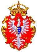 Orzeł Stefana Batorego (wg ryciny z herbarza Paprockiego – 1582)