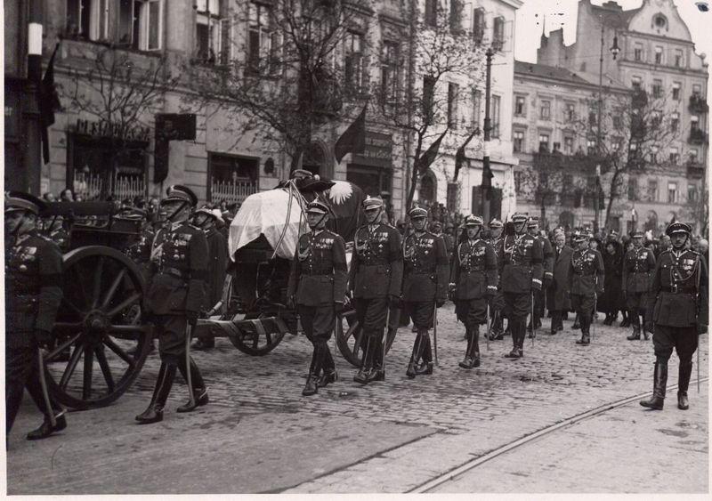 Pogrzeb Józefa Pilsudskiego, Warszawa 17 maja 1935 rok