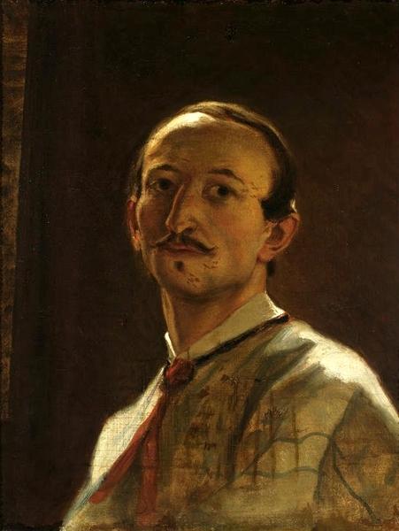 Artur Grottger, Autoportret