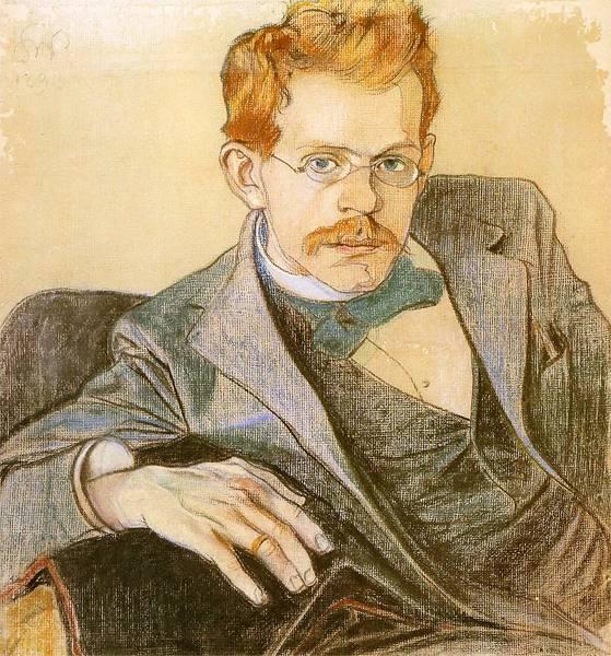 Stanisław Wyspiański, Portret Józefa Mehoffera