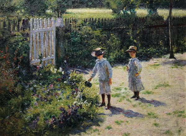 Władysław Podkowiński, Dzieci w ogrodzie
