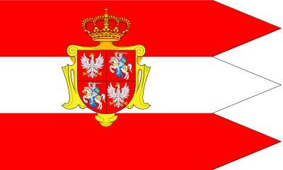 Flaga Rzeczypospolitej Obojga Narodów (1569-1792)<br />