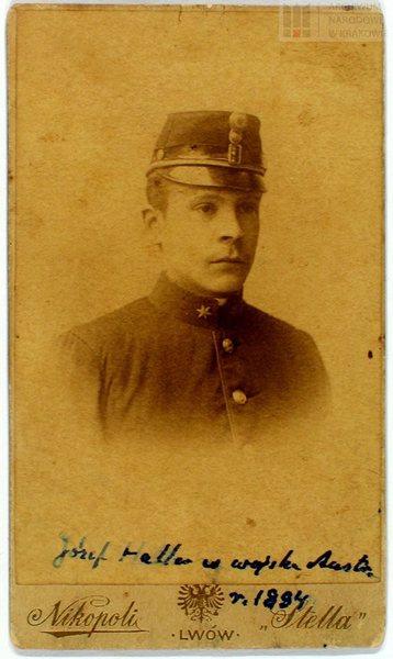 Jozef Haller  w wojsku