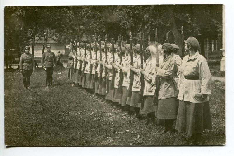 Ochotnicza Legia Kobiet w okresie wojny polsko-bolszewickiej