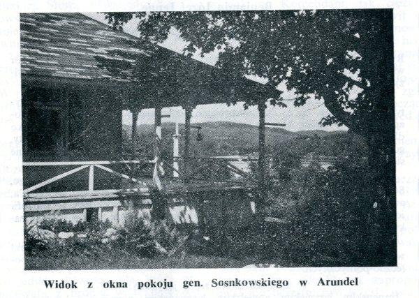 Dom gen. Sosnkowskiego w Arundel w Kanadzie
