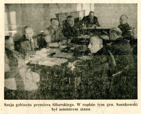 Sesja gabinetu premiera Sikorskiego