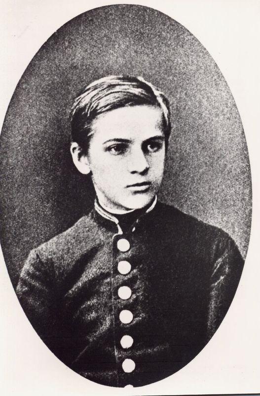 Józef Piłsudski w okresie młodości