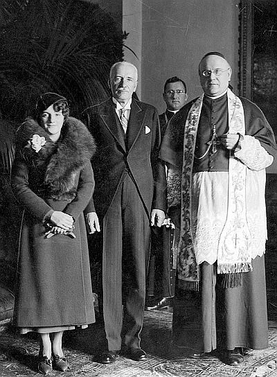 Drugi ślub prezydenta Mościckiego