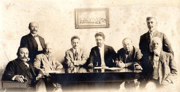 Komisja Poufna Komitetu Obrony Narodowej (KON), okres I Wojny Światowej, Chicago.