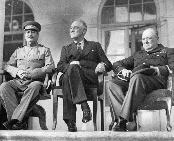 Konferencja w Teheranie, 1943