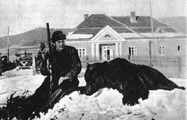 Ignacy Moscicki - polowanie 2
