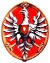 Orzeł Jana III Sobieskiego (wg wizerunku w Kościele Mariackim w Krakowie)