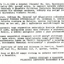 Fundusz stypendialny  im. Gen. sosnkowskiego