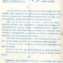 Rozkaz nr 8358 do zorganizowania linii obrony Wisły, 6 sierpnia, 1920 r.