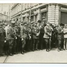 Defilada Wojska Polskiego po powrocie z frontu