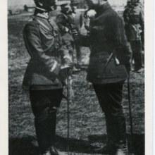 Gen. por. Antoni Listowski i Symon Petlura (Główny Ataman Ukraińskiej Republiki Ludowej).