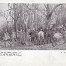 Potyczka  ułanów 26 X 1914