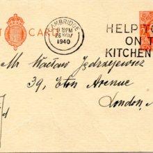 List Aleksandry Piłsudskiej do Wacława Jędrzejewicza, Londyn, 26 listopada 1940 r.