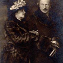 Ignacy Jan Paderewski z żoną Heleną