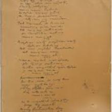 Autograf Pieśni Legionów Polskich we Włoszech, 17–20 lipca 1797,