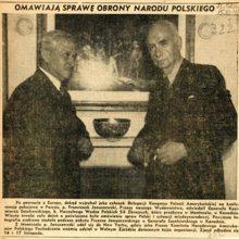 gen. K. Sosnkowski i p. F. Januszewski