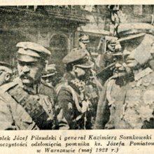 Kazimierz Sosnkowski i Jozef Pilsudski