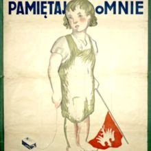 Plakat z okresu powstań śląskich