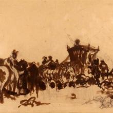 Jan Matejko, szkic