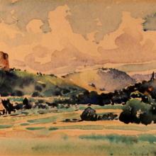 Juian Fałat, Czchów - Ruiny zamku