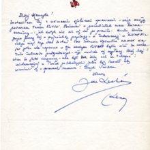 List Jana Lechonia do Henryka Floyar-Rajchmana, Nowy Jork, lata 50-te XX w.